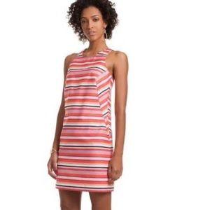 NWT Trina Turk Visalia Striped Halter Dress 0